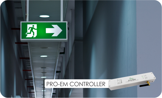 emergency lighting replacement controller
